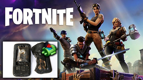 Android Fortnite fans cheated by malware