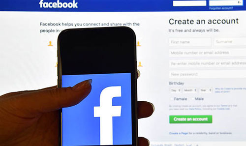 Create a Facebook account without a phone number and email address