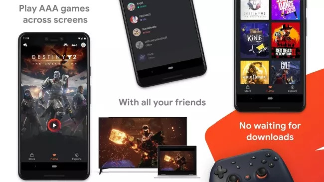 How to set up Google Stadia on smartphone