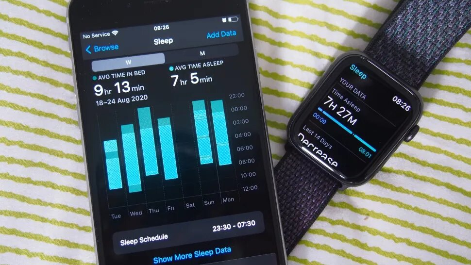 What is Apple Watch sleep tracking?
