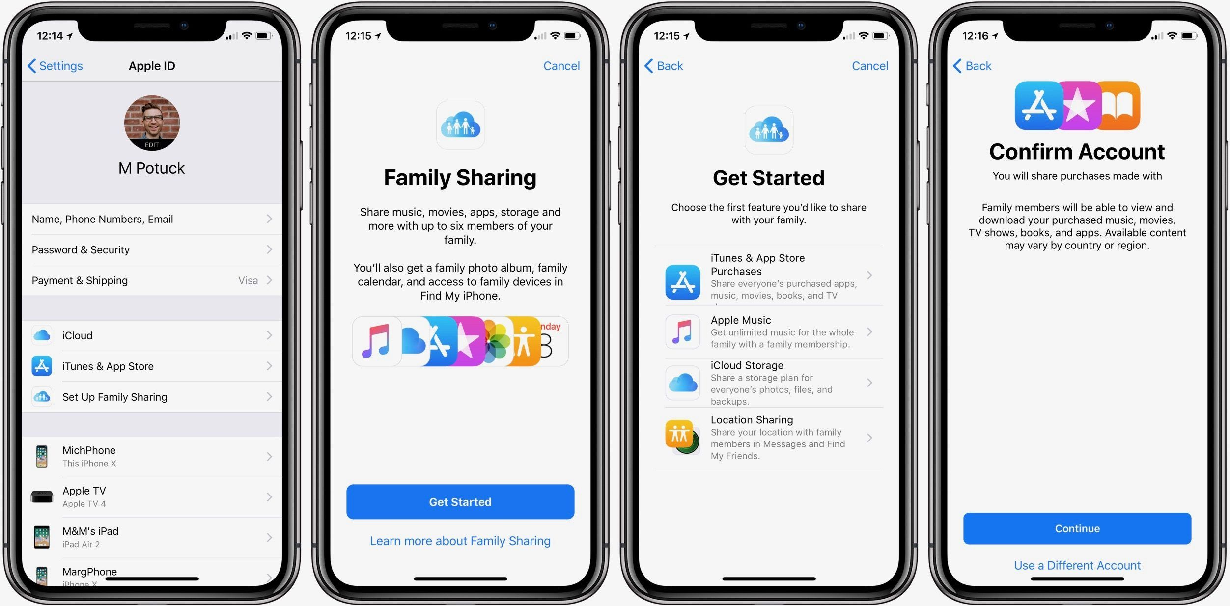 Что такое Apple Family Sharing?