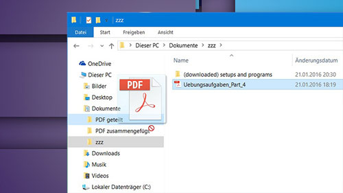 How to enable drag and drop in Windows 10